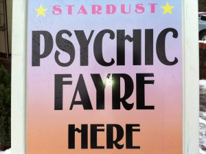 Stardust Psychic Fayres are run by Stardust Promotions